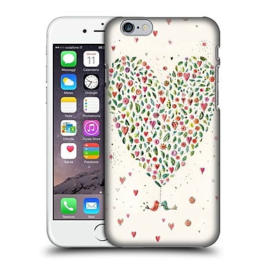 OFFICIAL TURNOWSKY BOLD BEAUTIFUL Heart Of Flowers Hard Back Case for Apple iPhone 6 / 6s (9_F_1CE2E)