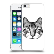 OFFICIAL TUMMEOW CATS IN BLACK AND WHITE Strabismus Hard Back Case for Apple iPhone 5 / 5s / SE (9_D_1BA99)