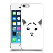 OFFICIAL TUMMEOW CATS IN BLACK AND WHITE Eyebrows Hard Back Case for Apple iPhone 5 / 5s / SE (9_D_1BA9A)