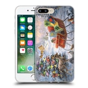 Official Christmas Mix Winter Wonderland Nicky Boehme Tis The Night Before Soft Gel Case for Apple iPhone 7 Plus (C_1FA_1D3AC)