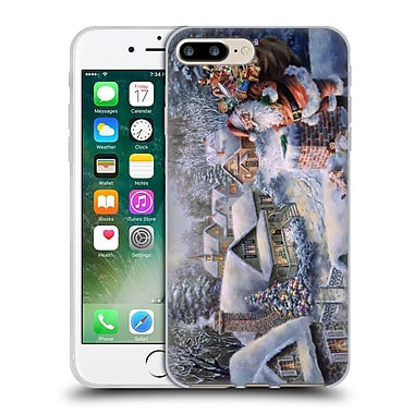 Official Christmas Mix Winter Wonderland Nicky Boehme Bringing Joy And Happiness Soft Gel Case for Apple iPhone 7 Plus