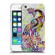 OFFICIAL ARTPOPTART ANIMALS Peacock Soft Gel Case for Apple iPhone 5 / 5s / SE (C_D_1A21F)