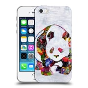 OFFICIAL ARTPOPTART ANIMALS Panda Soft Gel Case for Apple iPhone 5 / 5s / SE (C_D_1A21B)