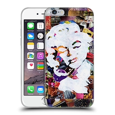 OFFICIAL ARTPOPTART POP CULTURE Marilyn Soft Gel Case for Apple iPhone 6 / 6s (C_F_1A22C)
