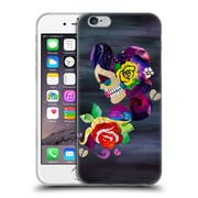 OFFICIAL ARTPOPTART POP CULTURE Sad Skull Soft Gel Case for Apple iPhone 6 / 6s (C_F_1A22F)