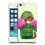 OFFICIAL TUMMEOW BOXING Cat 3 Hard Back Case for Apple iPhone 5 / 5s / SE (9_D_1DBFE)