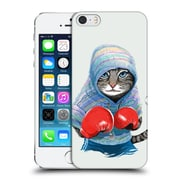 OFFICIAL TUMMEOW BOXING Cat Hard Back Case for Apple iPhone 5 / 5s / SE (9_D_1DBFC)