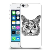 OFFICIAL TUMMEOW CATS IN BLACK AND WHITE Tongue Out Hard Back Case for Apple iPhone 5 / 5s / SE (9_D_1BA98)
