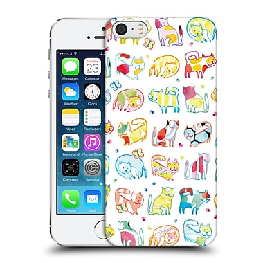 OFFICIAL TURNOWSKY FANTASIA Cool For Cats Hard Back Case for Apple iPhone 5 / 5s / SE (9_D_1CE3E)