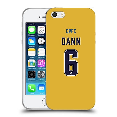 Official Crystal Palace FC 2016/17 Players Away Kit Scott Dann Soft Gel Case for Apple iPhone 5 / 5s / SE (C_D_1E63D)
