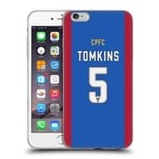 OFFICIAL CRYSTAL PALACE FC 2016/17 PLAYERS HOME KIT James Tomkins Soft Gel Case for Apple iPhone 6 Plus / 6s Plus (C_10_1E630)