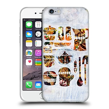OFFICIAL ARTPOPTART COLLAGE Kitchen Collection Soft Gel Case for Apple iPhone 6 / 6s (C_F_1A237)