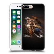 OFFICIAL ARON ART ANIMALS Owl Soft Gel Case for Apple iPhone 7 Plus (C_1FA_1DEFE)
