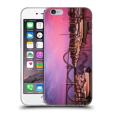 OFFICIAL DARREN WHITE SUNRISES AND SUNSETS Yaquina Bay Soft Gel Case for Apple iPhone 6 / 6s (C_F_1B1DF)