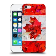 OFFICIAL ARTPOPTART FLAGS Canada Soft Gel Case for Apple iPhone 5 / 5s / SE (C_D_1A225)