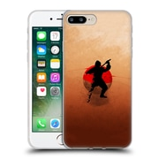 OFFICIAL ARON ART JAPANESE SILHOUETTE The Ninja Reboot Soft Gel Case for Apple iPhone 7 Plus (C_1FA_1DF07)