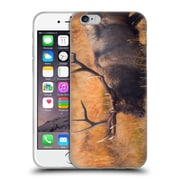 OFFICIAL DARREN WHITE WILDLIFE Shooting The Bull Soft Gel Case for Apple iPhone 6 / 6s (C_F_1B1E4)