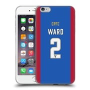 OFFICIAL CRYSTAL PALACE FC 2016/17 PLAYERS HOME KIT Joel Ward Soft Gel Case for Apple iPhone 6 Plus / 6s Plus (C_10_1E624)