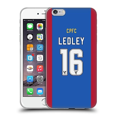 OFFICIAL CRYSTAL PALACE FC 2016/17 PLAYERS HOME KIT Joe Ledley Soft Gel Case for Apple iPhone 6 Plus / 6s Plus (C_10_1E62F)