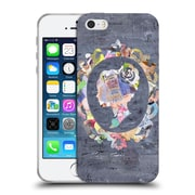 OFFICIAL ARTPOPTART COLLAGE Victorian Soft Gel Case for Apple iPhone 5 / 5s / SE (C_D_1A239)