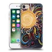 OFFICIAL BRENDA ERICKSON MOON Coyote Soft Gel Case for Apple iPhone 7 (C_1F9_1DDC7)