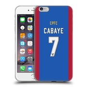 OFFICIAL CRYSTAL PALACE FC 2016/17 PLAYERS HOME KIT Yohan Cabaye Soft Gel Case for Apple iPhone 6 Plus / 6s Plus (C_10_1E62B)