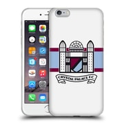 OFFICIAL CRYSTAL PALACE FC 2016/17 RETRO BADGE Towers Logo Soft Gel Case for Apple iPhone 6 Plus / 6s Plus (C_10_1E18F)