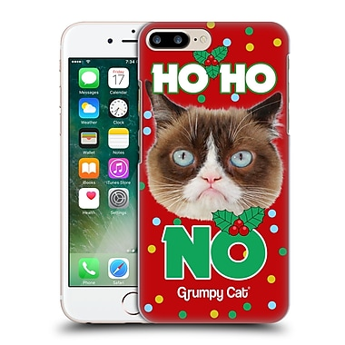 OFFICIAL GRUMPY CAT CHRISTMAS Ho Ho No Hard Back Case for Apple iPhone 7 Plus (9_1FA_1CC07)
