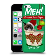 OFFICIAL GRUMPY CAT CHRISTMAS Seasons Greetings Hard Back Case for Apple iPhone 5c (9_E_1CC05)