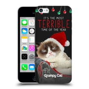 OFFICIAL GRUMPY CAT CHRISTMAS Terrible Hard Back Case for Apple iPhone 5c (9_E_1CC09)