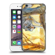 OFFICIAL EXILEDEN CANINE Wolf Watercolour Hard Back Case for Apple iPhone 6 / 6s (9_F_1C83D)