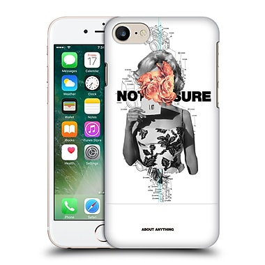 OFFICIAL FRANK MOTH RETROPOP Not Sure Hard Back Case for Apple iPhone 7 (9_1F9_1C4F5)