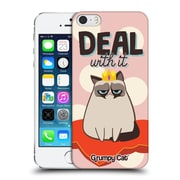 OFFICIAL GRUMPY CAT GRUMPMOJI Deal With It Hard Back Case for Apple iPhone 5 / 5s / SE (9_D_1CC0F)
