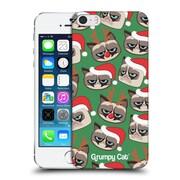 OFFICIAL GRUMPY CAT GRUMPMOJI CHRISTMAS Pattern Hard Back Case for Apple iPhone 5 / 5s / SE (9_D_1CC18)