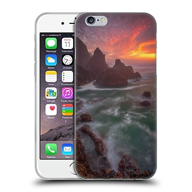 OFFICIAL DARREN WHITE SUNRISES AND SUNSETS Christmas Soft Gel Case for Apple iPhone 6 / 6s (C_F_1B1D7)