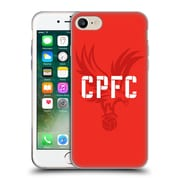 OFFICIAL CRYSTAL PALACE FC THE EAGLES Eagle Red Soft Gel Case for Apple iPhone 7 (C_1F9_1E18A)