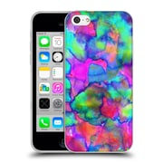 OFFICIAL AMY SIA ABSTRACT COLOURS Aurora Soft Gel Case for Apple iPhone 5c (C_E_1AB2A)