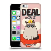 OFFICIAL GRUMPY CAT GRUMPMOJI Deal With It Hard Back Case for Apple iPhone 5c (9_E_1CC0F)