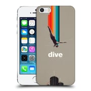 OFFICIAL FRANK MOTH VINTAGE Dive Hard Back Case for Apple iPhone 5 / 5s / SE (9_D_1C50B)