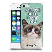 OFFICIAL GRUMPY CAT QUOTES Cute Hard Back Case for Apple iPhone 5 / 5s / SE (9_D_1CC1F)
