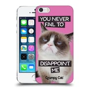 OFFICIAL GRUMPY CAT QUOTES Disappointed Hard Back Case for Apple iPhone 5 / 5s / SE (9_D_1CC1D)