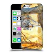 OFFICIAL EXILEDEN CANINE Wolf Watercolour Hard Back Case for Apple iPhone 5c (9_E_1C83D)