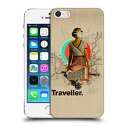 OFFICIAL FRANK MOTH VINTAGE Traveller Hard Back Case for Apple iPhone 5 / 5s / SE (9_D_1C512)
