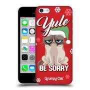 OFFICIAL GRUMPY CAT GRUMPMOJI CHRISTMAS Yule Be Sorry Hard Back Case for Apple iPhone 5c (9_E_1CC17)