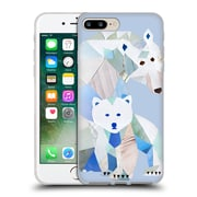 OFFICIAL ARTPOPTART ANIMALS Polar Bears Soft Gel Case for Apple iPhone 7 Plus (C_1FA_1A21A)