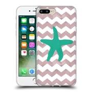 OFFICIAL ARTPOPTART CHEVRON Starfish Soft Gel Case for Apple iPhone 7 Plus (C_1FA_1A222)