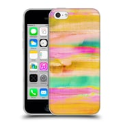 OFFICIAL AMY SIA ABSTRACT COLOURS Mirage Soft Gel Case for Apple iPhone 5c (C_E_1AB2F)