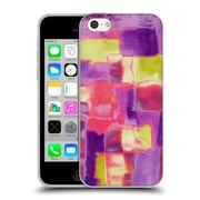 OFFICIAL AMY SIA ABSTRACT COLOURS Block Soft Gel Case for Apple iPhone 5c (C_E_1AB29)