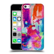 OFFICIAL AMY SIA ABSTRACT COLOURS Escape Soft Gel Case for Apple iPhone 5c (C_E_1AB2D)