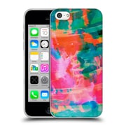 OFFICIAL AMY SIA ABSTRACT COLOURS Paradise Soft Gel Case for Apple iPhone 5c (C_E_1AB30)